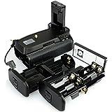 DSTE BG-2F Grip vertical avec batterie supplémentaire et télécommande sans fil pour Nikon D3100