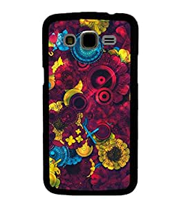 printtech Awesome Design Floral Pattern Back Case Cover for Samsung Galaxy J5::Samsung Galaxy J5 J500F