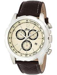 8828e6e09c9b Lotus 15856 4 - Reloj cronógrafo de cuarzo para hombre con correa de piel