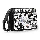 MySleeveDesign Messenger Bag Laptoptasche Notebooktasche mit Tragegurt - Tasche für Laptop & Notebook der Größen 13,3 Zoll / 14 Zoll / 15,6 Zoll / 17,3 Zoll - VERSCH. Designs - Photos - 17