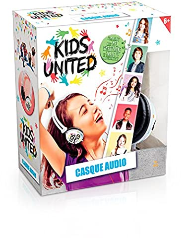 Canal Toys CT07203 1 X Electronique - Kids United - Casque Audio