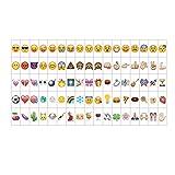 85 Lettres Cinématographique de Couleur LED Lettres Acryliques Numéros Symboles et Emojis pour Boîte à Lumière A4