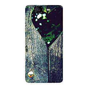 Special Wooden Vintage Print Back Case Cover for Canvas Knight A350