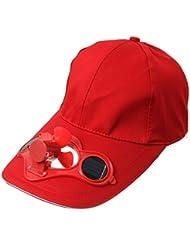 Y-BOA – Casquette Visière Avec Mini Ventilateur Solaire – Homme/ Femme Modern - Chapeau Voyage Sport/Golf/ Baseball