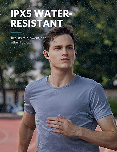 Soundcore Liberty Lite Bluetooth Kopfhörer True Wireless TWS in ear Kopfhörer von Anker, Kabellose Kopfhörer mit 12 Stunden Akkulaufzeit, Verbesserter Sound, Mikrofon und Bluetooth 5.0 - 4