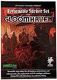 Sinister Fish Games SIF00020 Gloomhaven - Juego de Pegatinas extraíbles