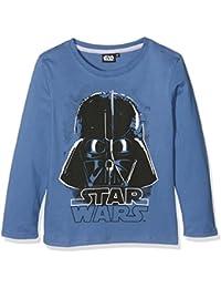 Star Wars-The Clone Wars Darth Vader Jedi Yoda Jungen Langarmshirt 2016 Kollektion - blau