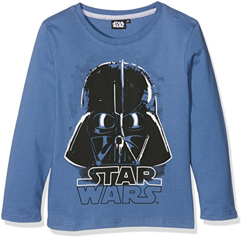 Star Wars-The Clone Wars Darth Vader Jedi Yoda Jungen Langarmshirt - blau - 128