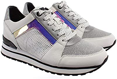Sneakers Mujeres MICHAEL KORS 43R0BIFS1L Billie Cuero Tejido