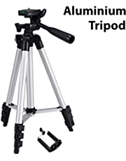 JDCELL Flexible Octopus Foldable Tripod for Camera, DSLR and Smartphones with Mobile Attachment,Tripod for Mobile Phone,Tripod Stand for Phone and Camera,Mobile Tripod Stand (White & Black)
