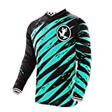 Uglyfrog Designs Winter Thermo Fleece Warm Erwachsener Motocross Jersey Cross Offroad Enduro Downhill Shirt Atmungsaktiv Lange Ärmel Rundhalsausschnitt or V-Ausschnitt