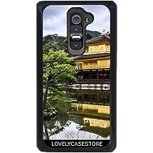 Funda para LG G2 - Japón Jardín Parque Monumento Estanque Kyoto Pabellón de Oro Kinkaku-Ji