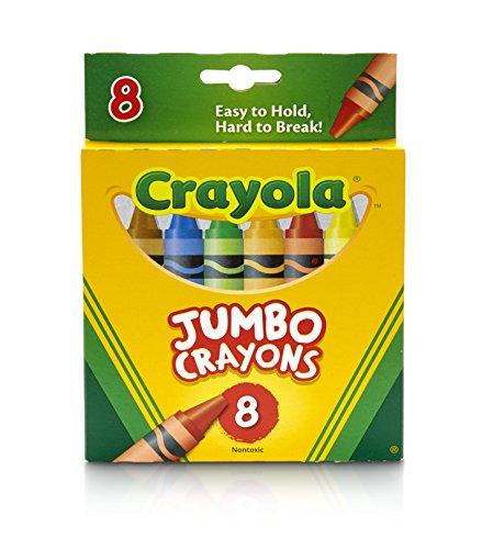 Crayola Jumbo Crayons – 8 carats
