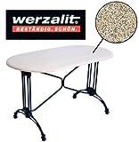 Werzalit Gastronomie Tischplatte Granit 120x65cm Bistrotisch Gastro Tisch Platte