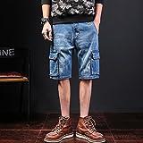 Chaussures à talons jeans à mi-hauteur Chaussures homme, Street chic Slim Solid, 35