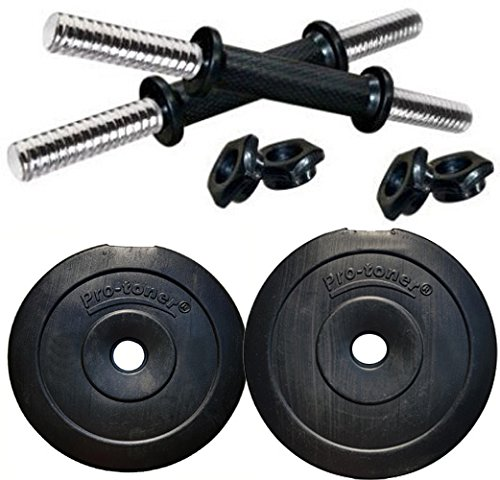 Protoner PVC Adjustable Dumbbells Set (20 Kg).  available at amazon for Rs.610