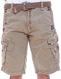 Geographical Norway bermuda shorts Perle Men