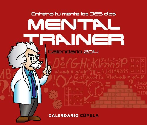 Portada del libro Calendario sobremesa Mental Trainer 2014 (Calendarios y agendas)