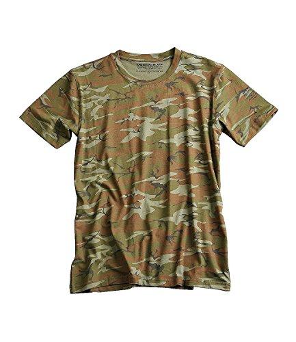 Alpha Industries Herren T-Shirt Bodywear camouflage Tarnfarbe, Woodland