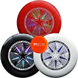 White, Yellow, & Orange Ultimate Bundle - 3 Discraft Ultra Stars + Mini Disc by Driven Disc Golf