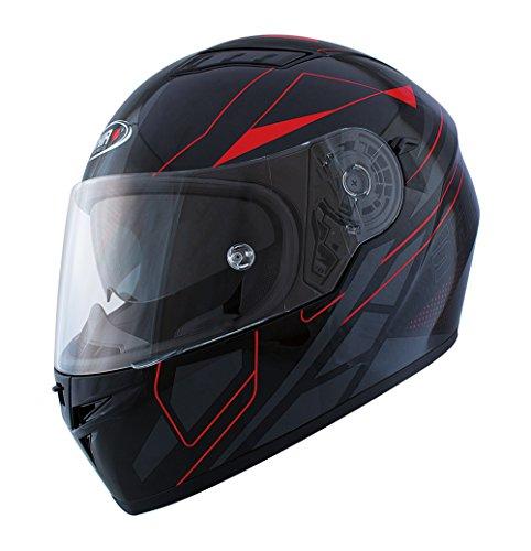 Shiro casco, Elite, color rojo, tamaño XL