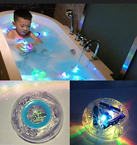 PvxgIo Decoración del hogar Luz de bañera para niños, Juguetes para baño...
