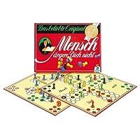 Schmidt-Spiele-49020-Mensch-rgere-dich-nicht-Jubilumsausgabe-mit-Holzsteinen