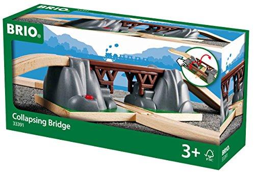elektrisches pferd BRIO World 33391 - Einsturzbrücke