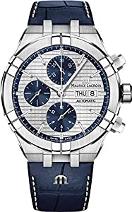 Maurice Lacroix Aikon Automatic watch silver/blue