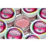 Rainbow Dust Non-Toxic Cake Glitter Decoration Sparkle Range PASTEL PINK