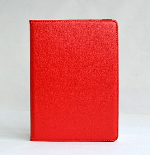 inShang iPad air 2 ipad 6 Housse (iPad 2014-2015 Version) Etui Smart Cover Pour Tablette iPad6 PU cuir, - Fait automatiquement passer en mode veille et sortir du mode veille votre, Coque Avec Support  Red