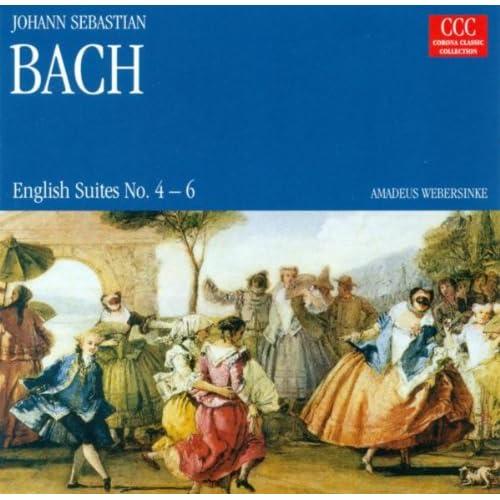 Johann Sebastian Bach.: English Suites Nos. 4-6 (Webersinke)