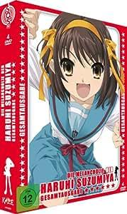 Die Melancholie der Haruhi Suzumiya - Staffel 1 - Gesamtausgabe (Premiumbox) [4 DVDs]