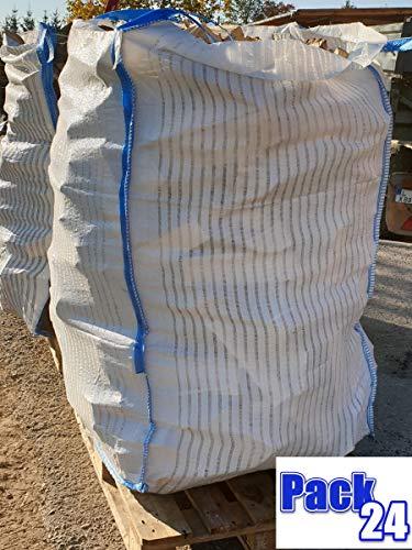10 Stück BigBag für Brennholz Kaminholz Holzbag Woodbag Brennholzsack Netz Big Bag 100 * 100 * 120cm