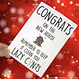 Congrats New Home Karte, beweglichen Home Karte, ersten Home, lazu C * NTS, Einzugs Karte, New Home, New House, Bewegung Home, House pc211