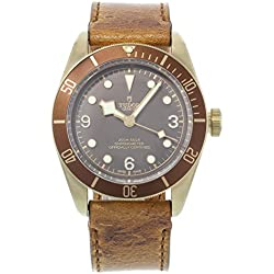 Tudor Patrimonio Negro Bahía bronce 79250bm–Reloj automático de hombre