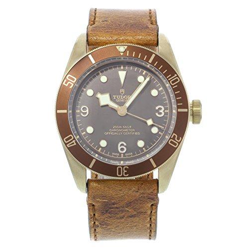 Tudor Heritage schwarz Bay Bronze 79250bm Automatische Herren-Armbanduhr