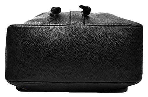 Student Rucksack Umhängetasche Handtasche Mode Freizeit Wild Black