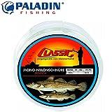 Paladin Classic Mono Nylonschnur 100m 1,40mm 70kg - Vorfachschnur für Meeresvorfächer, monofile...