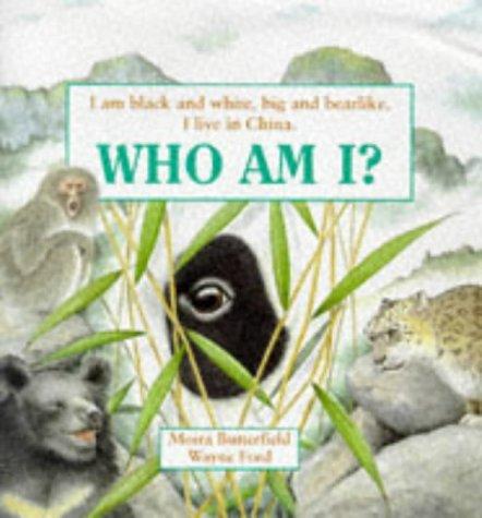 Who am I? : I am black and white, big and bearlike. I live in China
