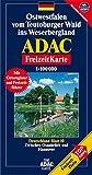ADAC FreizeitKarte, Bl.10, Ostwestfalen vom Teutoburger Wald ins Weserbergland (ADAC Freizeitkarten) -
