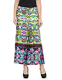 Ayaany Flare Printed Plazzo Look Trousers