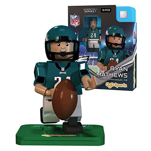 Ryan Mathews NFL OYO Philadelphia Eagles Generation 3 Series 1 G3 Mini Figure