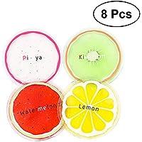 HEALIFTY Kühlpackung 8pcs kleine Runde wiederverwendbare Gel-Eis-Packungen Mini Fruit Ice Gel Pack für Kinder... preisvergleich bei billige-tabletten.eu