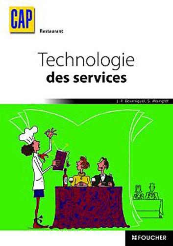 Technologie des services CAP Restaurant (Cap Serge)