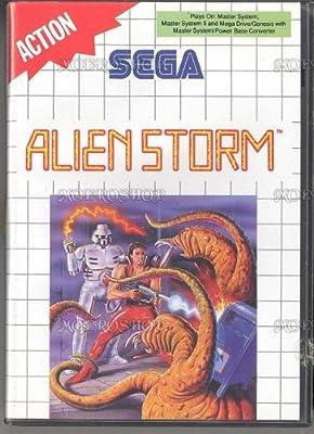 Alien storm b - Master System - PAL