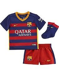 Nike Fcb Home Infants Kit - Traje completo Fútbol Club Barcelona 2015/2016 para niño
