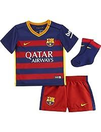 Nike FCB Home Infants Kit - Conjunto Deportivo para niños, Color Azul/Rojo / Dorado