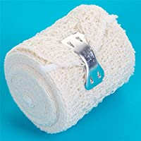 10x Rolls of 4.5m x 5cm Premium Narrow Crepe Bandages - Wrist/Ankle Sprain Supports