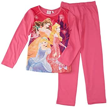 disney princesse ensemble de pyjama fille rose fonc. Black Bedroom Furniture Sets. Home Design Ideas